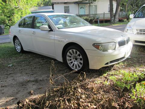 2002 BMW 7 Series for sale in Charleston, SC