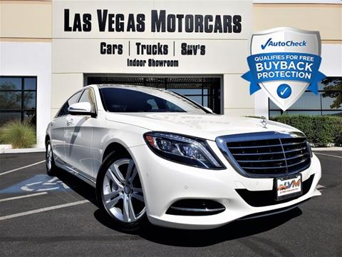 2017 Mercedes Benz S Class For Sale In Las Vegas Nv