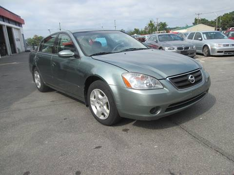 2002 Nissan Altima for sale in Manchester, NH