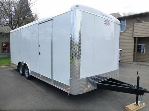 2018 Cargo Mate Enclosed 20' Extra 6'' Height