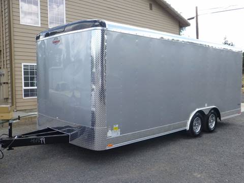 2018 Cargo Mate Enclosed 22' Extra 6'' Height