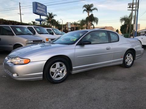 2004 Chevrolet Monte Carlo for sale in Van Nuys, CA