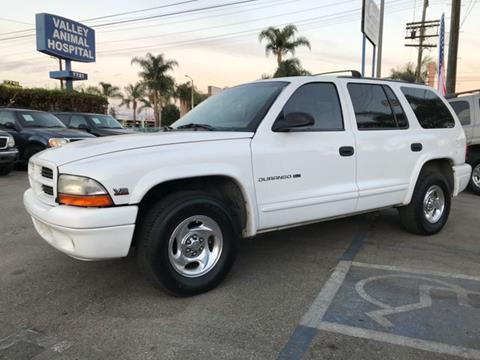 1999 Dodge Durango for sale in Van Nuys CA