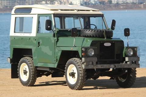 1978 Land Rover Defender for sale at Precious Metals in San Diego CA