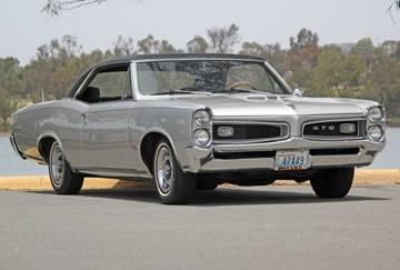 1966 Pontiac GTO for sale at Precious Metals in San Diego CA