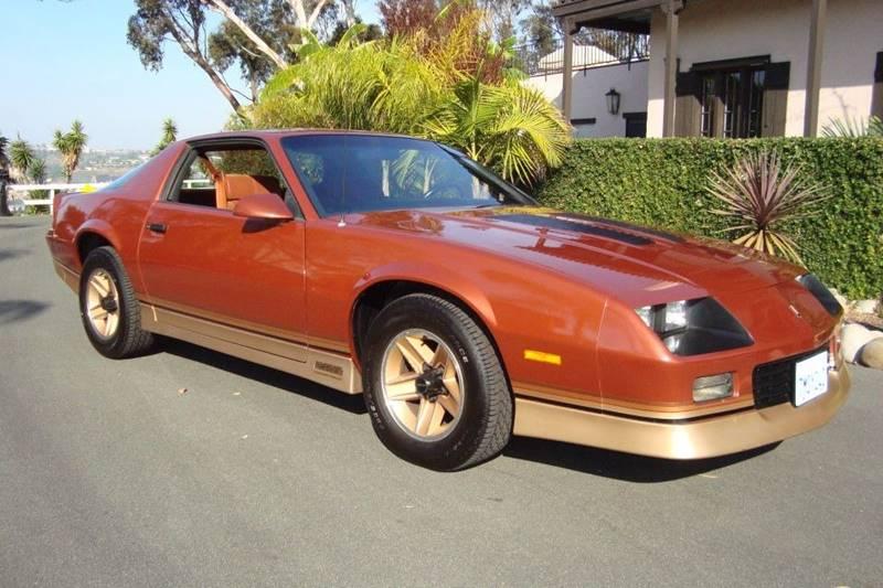 1985 Chevrolet Camaro for sale at Precious Metals in San Diego CA