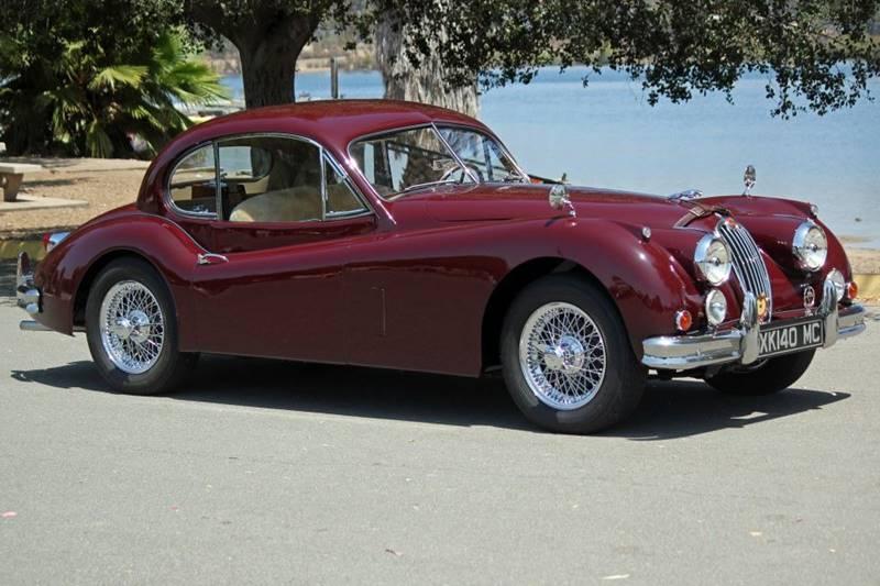 1955 Jaguar XK (image 1)