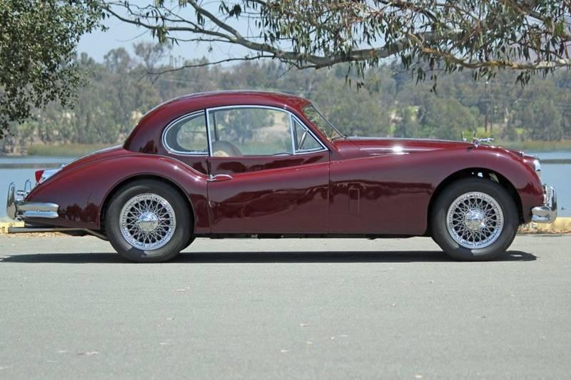 1955 Jaguar XK (image 3)