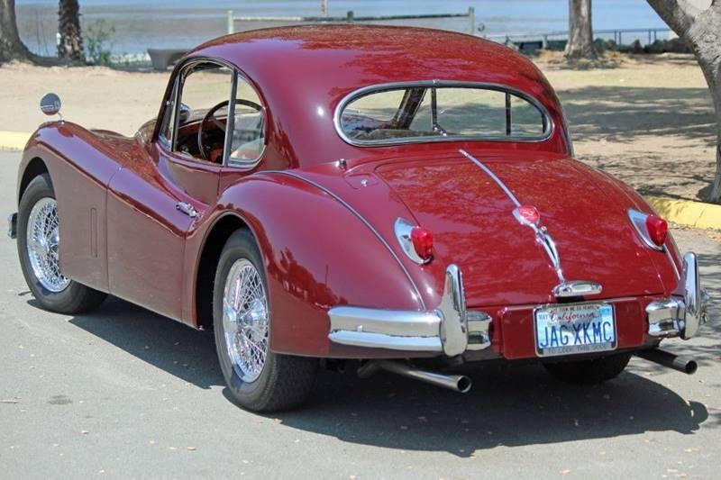 1955 Jaguar XK (image 4)