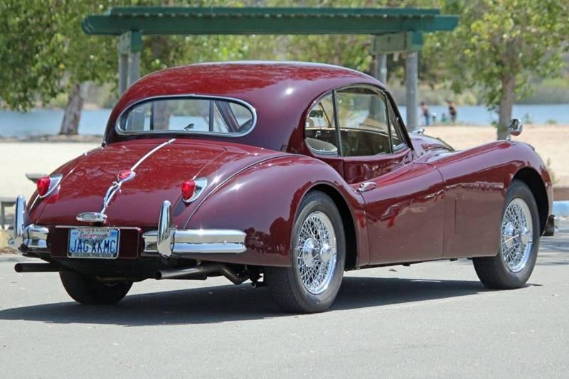 1955 Jaguar XK (image 5)
