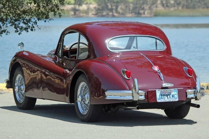 1955 Jaguar XK (image 6)