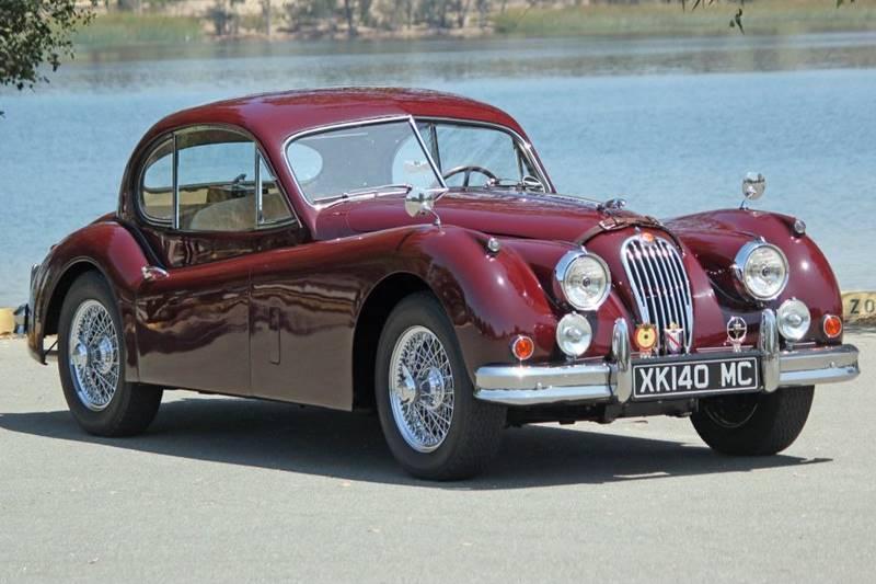 1955 Jaguar XK (image 7)