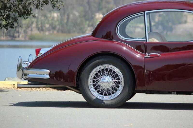 1955 Jaguar XK (image 8)