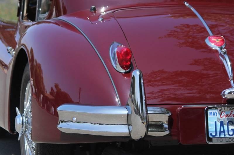 1955 Jaguar XK (image 12)