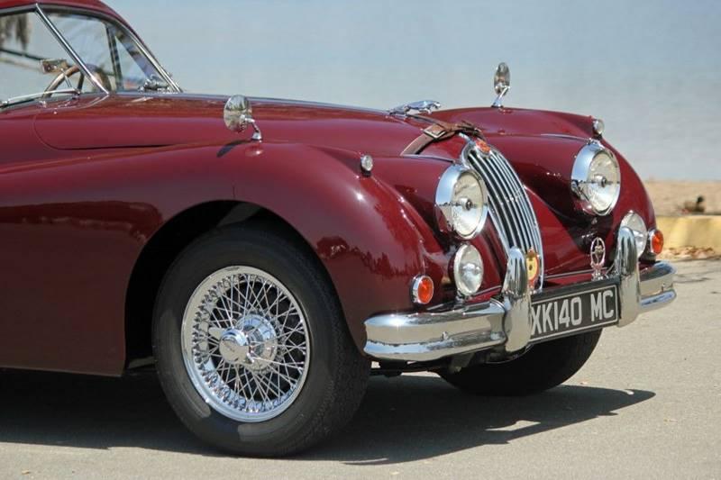 1955 Jaguar XK (image 14)
