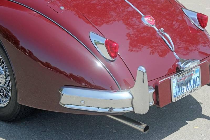 1955 Jaguar XK (image 16)