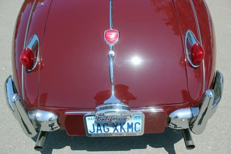 1955 Jaguar XK (image 17)