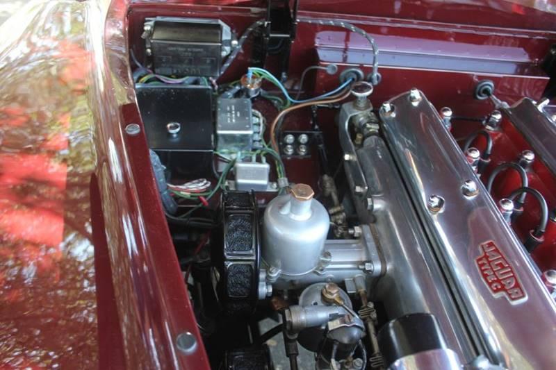1955 Jaguar XK (image 38)