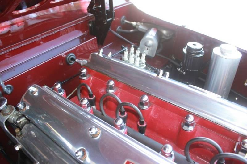 1955 Jaguar XK (image 40)