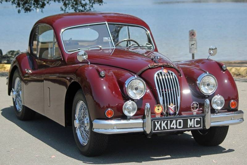1955 Jaguar XK (image 47)