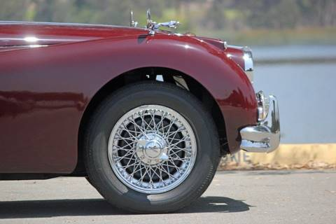 1955 Jaguar XK for sale at Precious Metals in San Diego CA