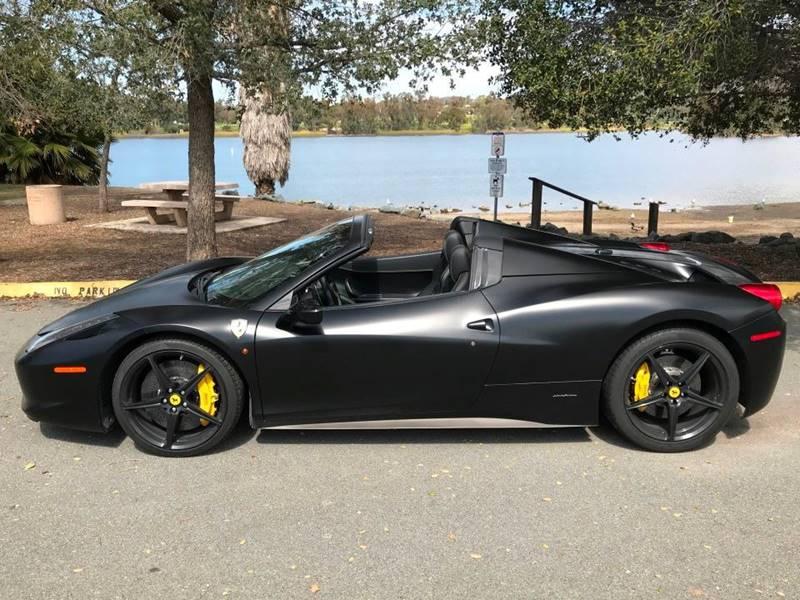 2013 Ferrari 458 Spider (image 3)