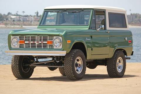 Cars For Sale San Diego >> 1974 Ford Bronco For Sale In San Diego Ca