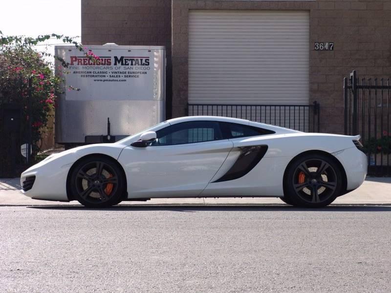 2012 McLaren MP4-12C for sale at Precious Metals in San Diego CA