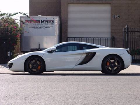 2012 McLaren MP4-12C for sale at Precious Metals in San Diego CA