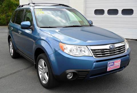 2009 Subaru Forester for sale at Jay & T's Auto Sales in Pottsville PA