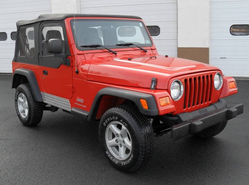 2006 Jeep Wrangler for sale at Jay & T's Auto Sales in Pottsville PA