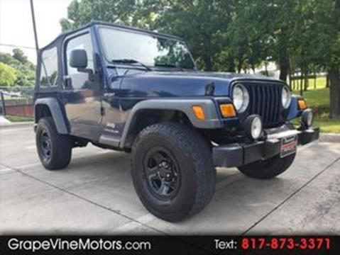 2005 Jeep Wrangler for sale in Grapevine, TX