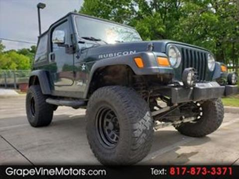2006 Jeep Wrangler for sale in Grapevine, TX