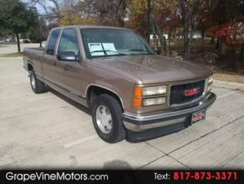 1996 GMC Sierra 1500 for sale in Grapevine, TX