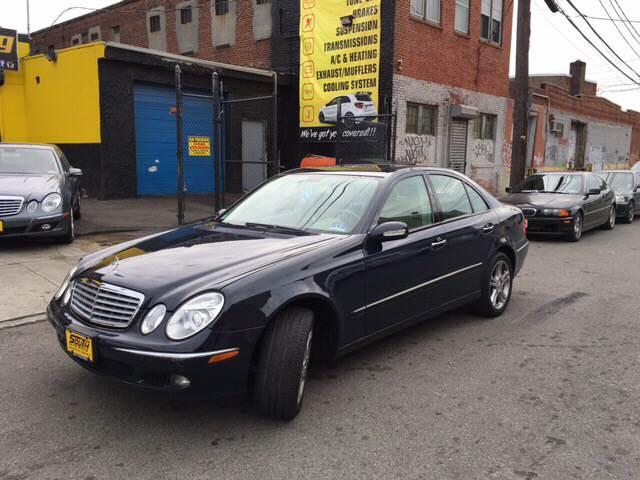 2005 Mercedes Benz E Class E500 4dr Sedan In Newark Nj South
