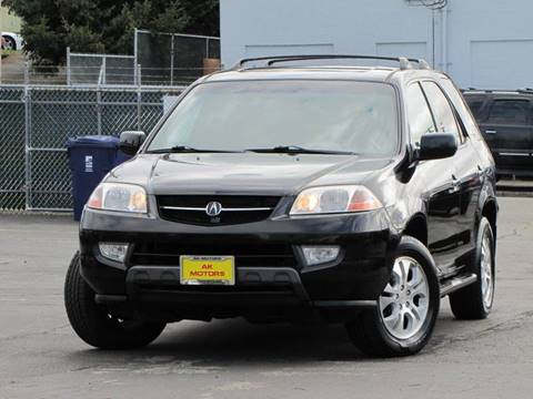 2003 Acura MDX for sale at AK Motors in Tacoma WA