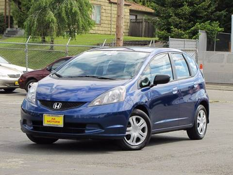 2010 Honda Fit for sale at AK Motors in Tacoma WA