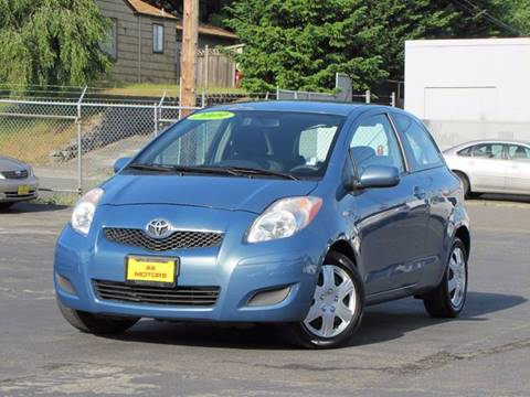 2009 Toyota Yaris for sale at AK Motors in Tacoma WA