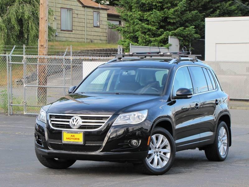 2009 Volkswagen Tiguan for sale at AK Motors in Tacoma WA
