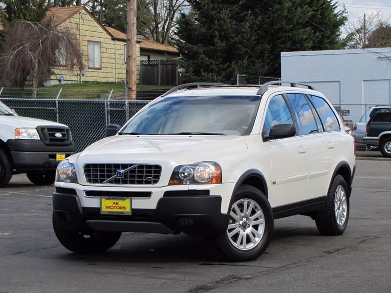 2006 Volvo XC90 for sale at AK Motors in Tacoma WA