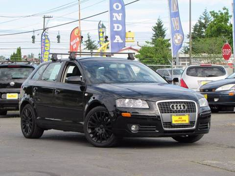 2006 Audi A3 for sale at AK Motors in Tacoma WA