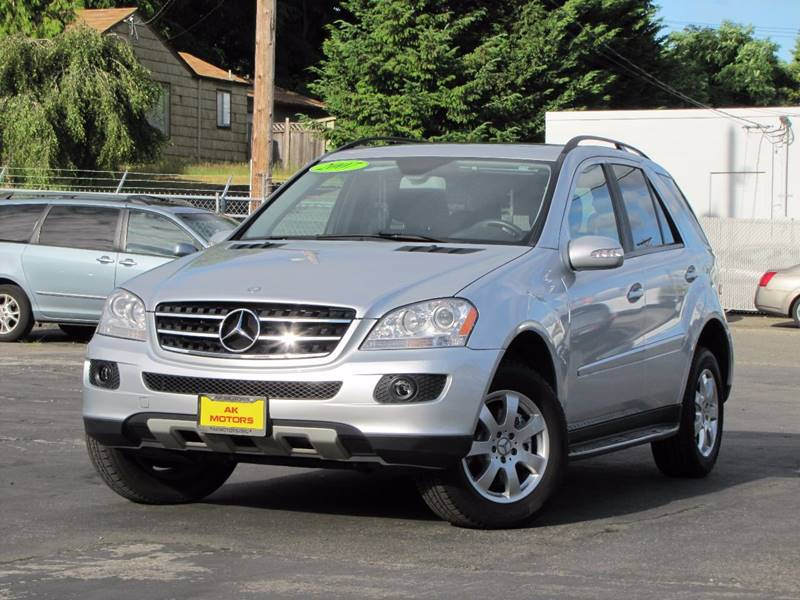 2007 Mercedes-Benz M-Class for sale at AK Motors in Tacoma WA
