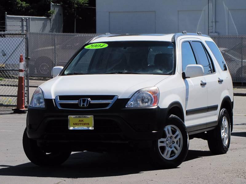 2004 Honda CR-V for sale at AK Motors in Tacoma WA
