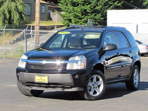 2005 Chevrolet Equinox for sale at AK Motors in Tacoma WA