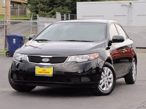2012 Kia Forte for sale at AK Motors in Tacoma WA