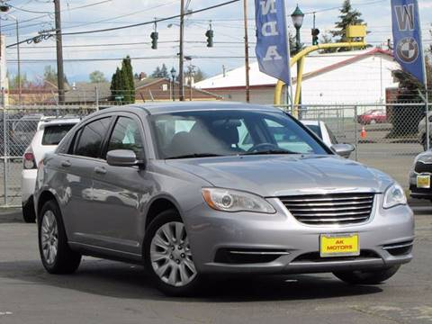 2014 Chrysler 200 for sale in Tacoma, WA