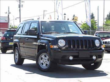 2012 Jeep Patriot for sale in Tacoma, WA