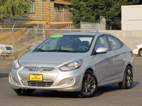 2014 Hyundai Accent for sale in Tacoma, WA