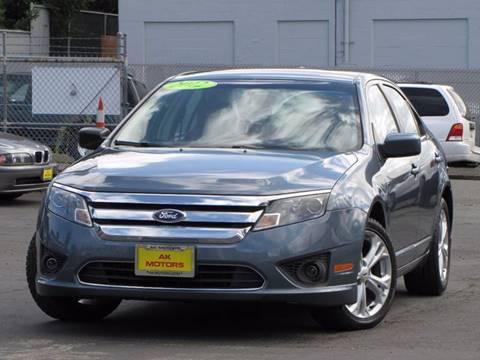 2012 Ford Fusion for sale in Tacoma, WA