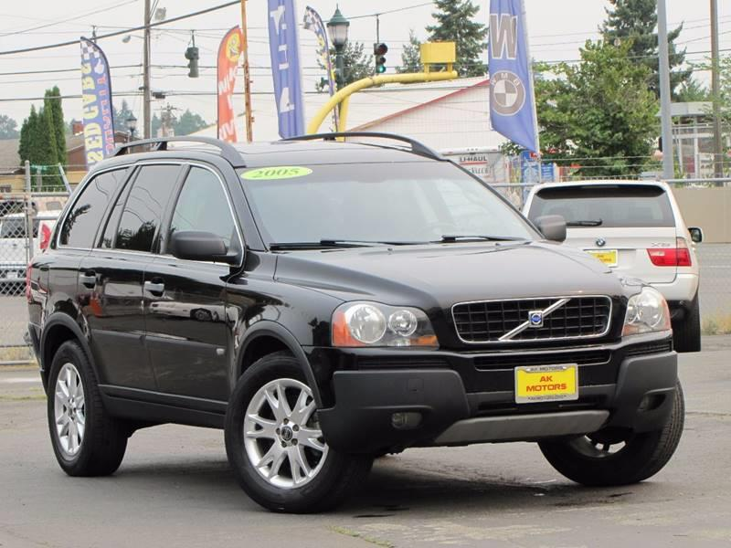 2005 Volvo XC90 for sale at AK Motors in Tacoma WA